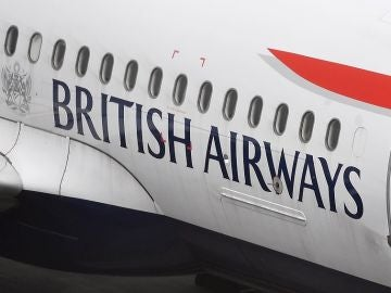 Un avión de British Airways