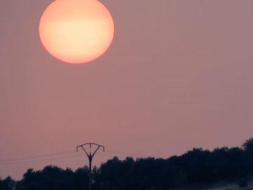 La calima sahariana llega a la península dejando temperaturas de casi 40 grados