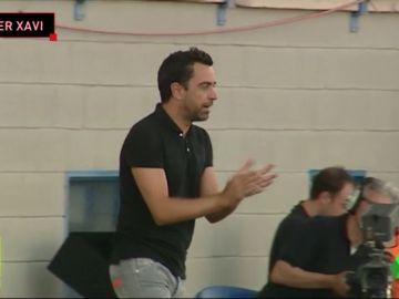 Xavi debuta como entrenador del Al-Saad con un empate en Palmarós