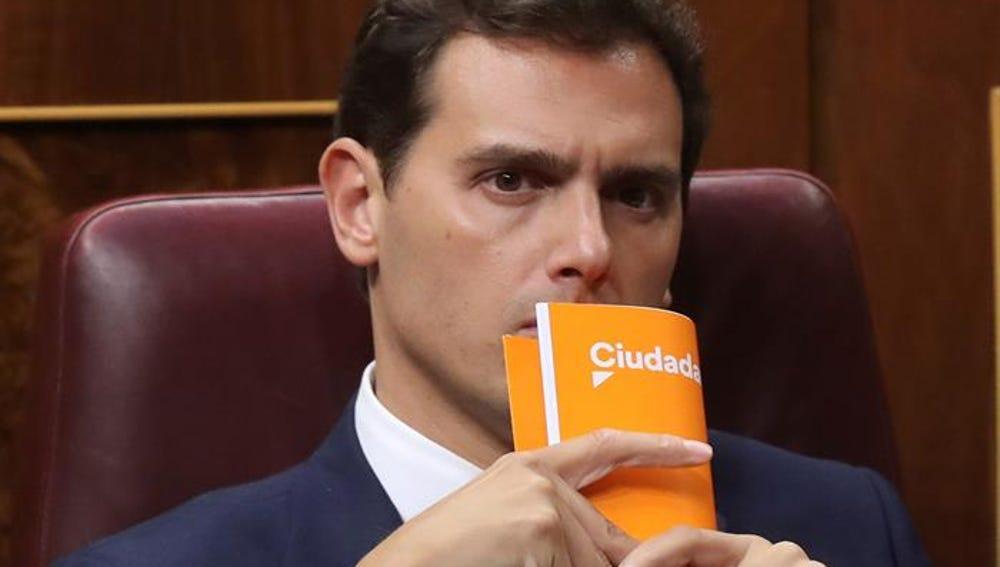 El líder de Ciudadanos Albert Rivera