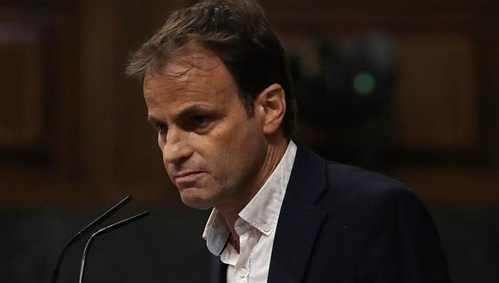 El líder de En Comú Podem en el Congreso, Jaume Asens