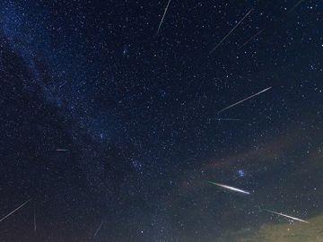 Lluvia de meteoros Delta Acuáridas