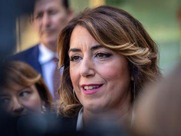 La líder del PSOE en Andalucía, Susana Díaz