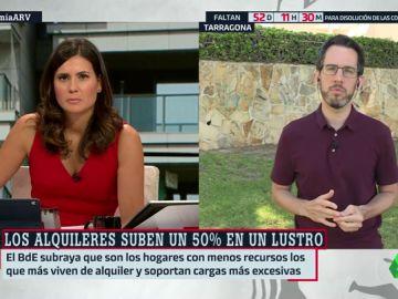 """Jaime Palomera, sindicato de Inquilinos de Barcelona: """"El Gobierno permitió a los fondos buitre acaparar miles de viviendas y subir el precio"""""""