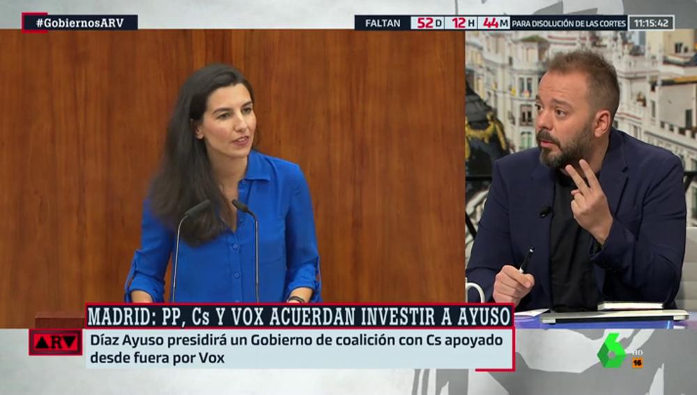 """Antonio Maestre: """"Las medidas que impone Vox incumplen dos reglamentos españoles y uno supranacional y Cs y PP dicen que tiene buena pinta"""""""