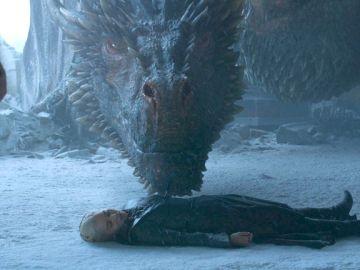 Daenerys Targaryen después de morir.