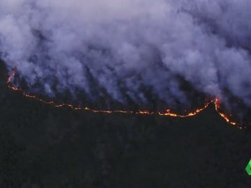 Incendios desde el aire en Siberia