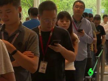 Imagen de ciudadanos chinos