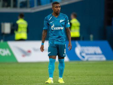 Malcom, en su debut con el Zenit de San Petersburgo