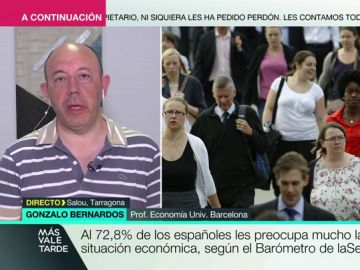 """Gonzalo Bernardos alerta sobre la situación económica en España: """"Empieza a ser muy negativo que no haya un Gobierno"""""""