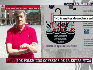 """Blanca Estrella, presidenta de la asociación Clara Campoamor: """"Me niego como mujer a que carguen sobre mi que alguien me viole"""""""