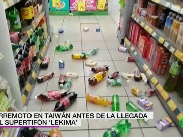 Un terremoto de magnitud 6 sacude el norte de Taiwán antes de la llegada del supertifón