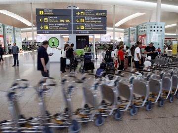 Vista de la Terminal 1 del Aeropuerto Barcelona-El Prat.