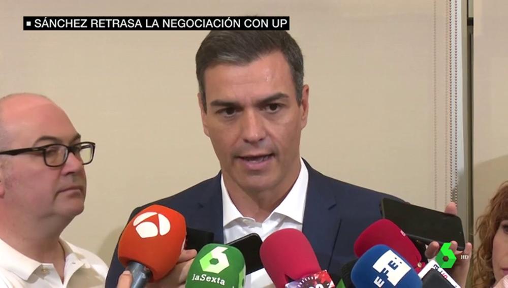 Pedro Sánchez retomará a final de agosto el contacto con Unidas Podemos y el resto de partidos
