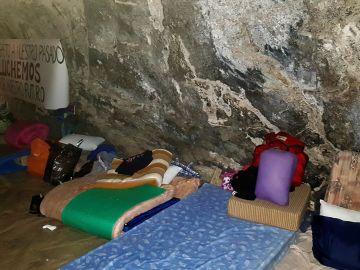 11 vecinos de la comarca ciudadrealeña de Almadén encerrados en la mina para reclamar servicios
