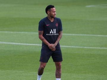 Neymar, jugador del París Saint-Germain