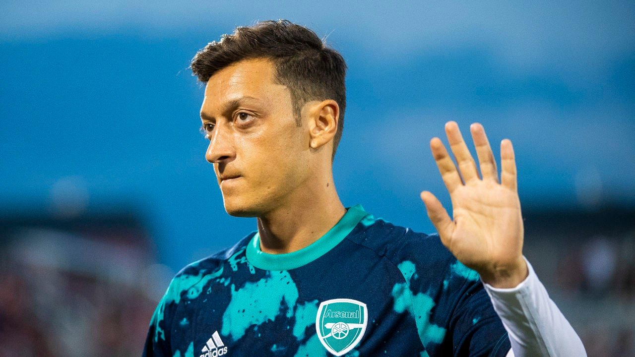 Mesut Özil, jugador del Arsenal
