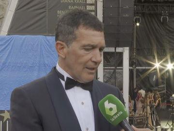 El actor Antonio Banderas, en la gala del Starlite