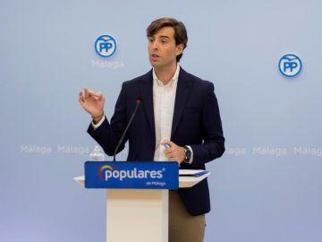 El vicesecretario de Comunicación del PP, Pablo Montesinos
