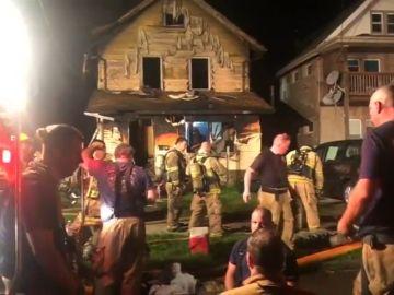 Mueren cinco niños por el incendio de una guardería en Pensilvania