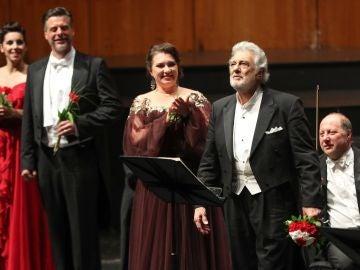 El tenor Plácido Domingo, en una actuación en Salzburgo