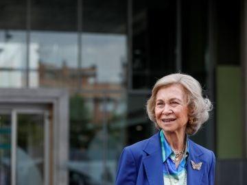 La reina Sofía permanecerá en el Palacio de la Zarzuela y seguirá con su actividad institucional