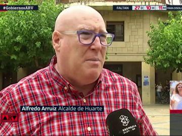 Alfredo Arruiz, alcalde de Huarte