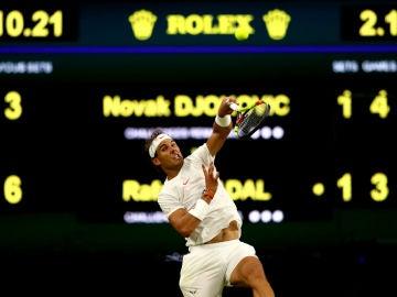 Rafa Nadal, conra Djokovic