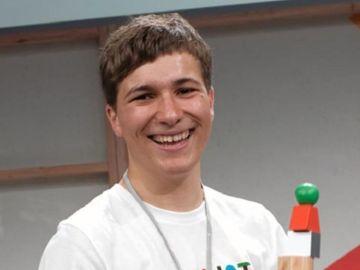 Fionn Ferreira, ganador del Gran Premio de la 'Google Science Fair'
