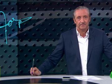 """Josep Pedrerol: """"Mucha suerte, Keylor Navas, te la has ganado"""""""