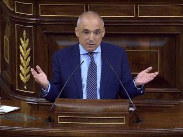 El portavoz adjunto del grupo parlamentario socialista, Rafael Simancas