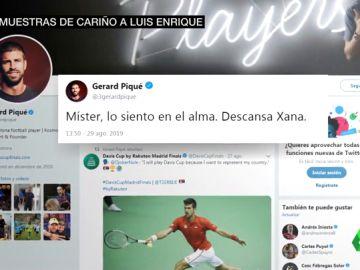 El mundo del deporte llora la muerte de Xana, la hija pequeña de Luis Enrique