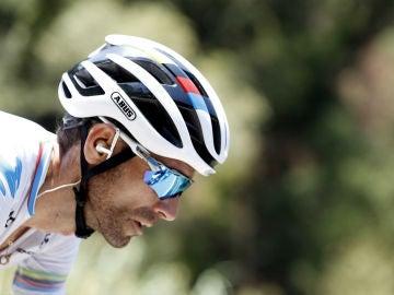 Alejandro Valverde, en la Vuelta