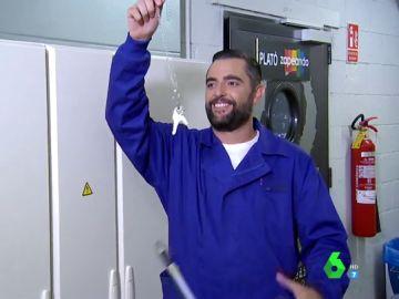 """Dani Mateo recoge el testigo de Frank Blanco a los mandos de Zapeando: """"Cuídamelo bien"""""""
