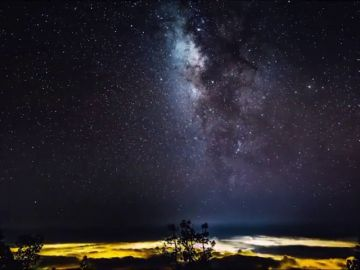 La Vía Láctea, la leyenda del campo de estrellas que guiaba a los peregrinos hasta Santiago