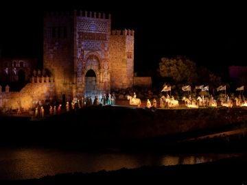 La empresa Puy du Fou ha abierto sus puertas en España con el espectáculo nocturno 'El Sueño de Toledo'