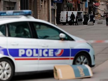 Un coche de policía en Francia, en una imagen de archivo