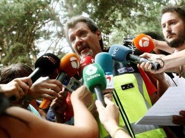 Pedro Herranz, jefe del operativo policial encargado de la búsqueda de Blanca Fernández Ochoa