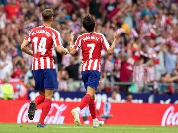 Joao Félix celebra un gol