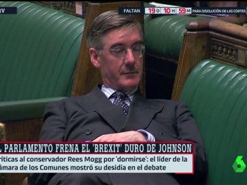 Abanderado del Brexit duro y pieza clave del Partido Conservador: así es el diputado que se durmió en la Cámara de los Comunes
