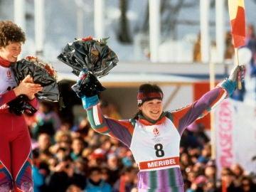 Blanca Fernández Ochoa en los JJOO de Invierno de 1992
