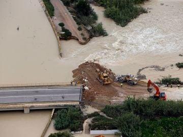 Desbordamiento del río Segura