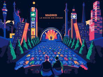 La noche sin hogar llega a Madrid