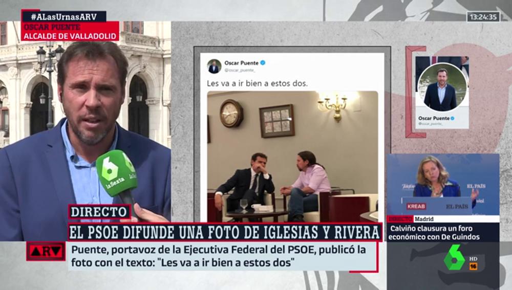Óscar Puente en ARV