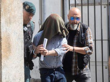 El detenido por el triple crimen de Valga