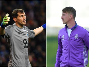 Casillas y Guti, leyendas del Real Madrid