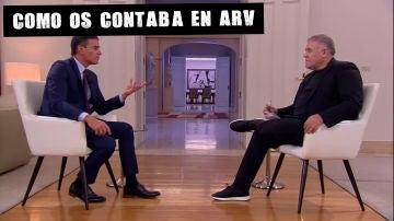 Entrevista a Pedro Sánchez en Especial ARV