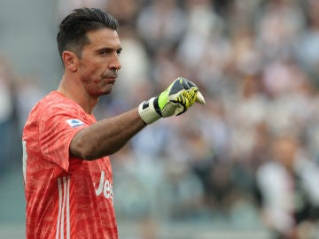 Buffon, con la Juventus