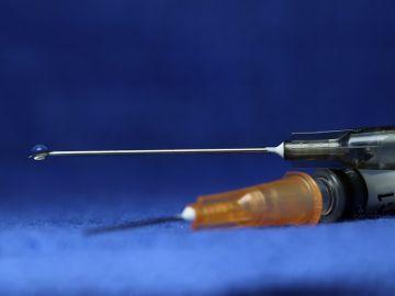 Imagen de archivo de una inyección