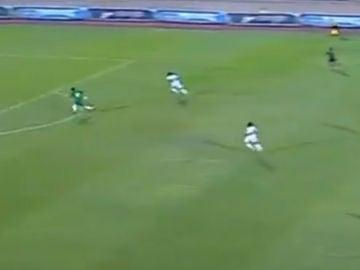 Partido de fútbol en Egipto